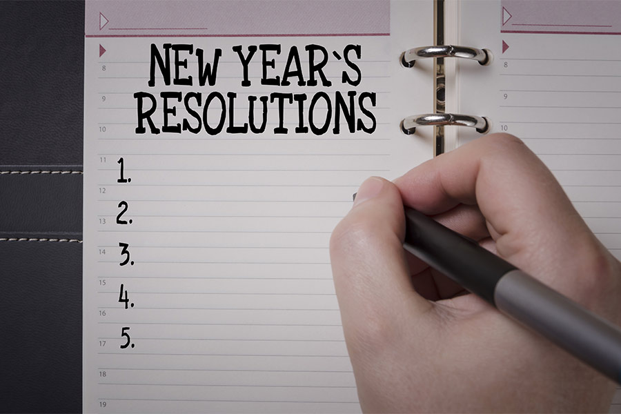 happy new year and healthy new you